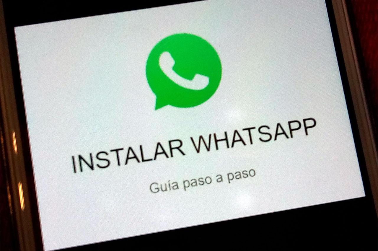 como instalar whatsapp