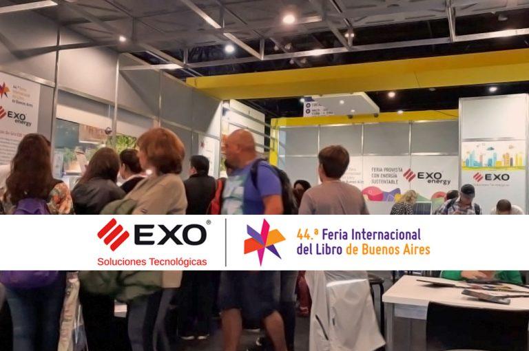 EXO está presente en la 44ª Feria Internacional del Libro de Buenos Aires