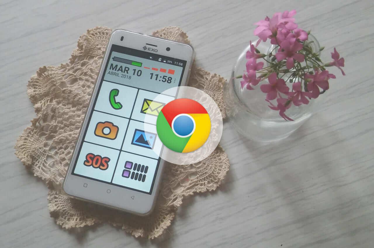 guardar favoritos en chrome en el celular