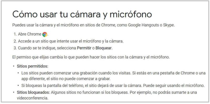 cómo buscar en google con la voz