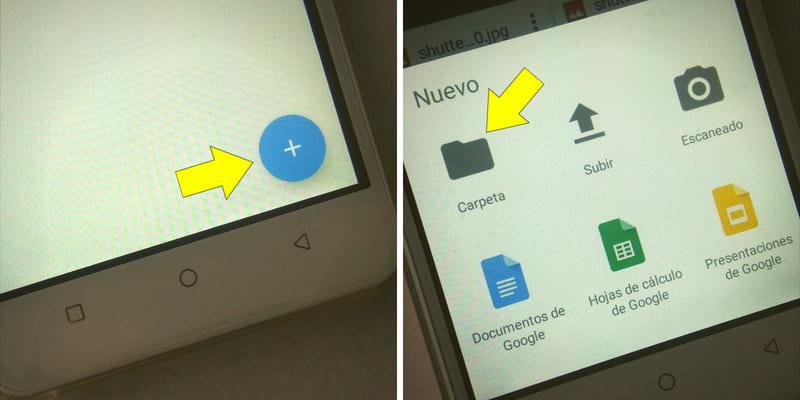 cómo guardar fotos en la nube desde el celular