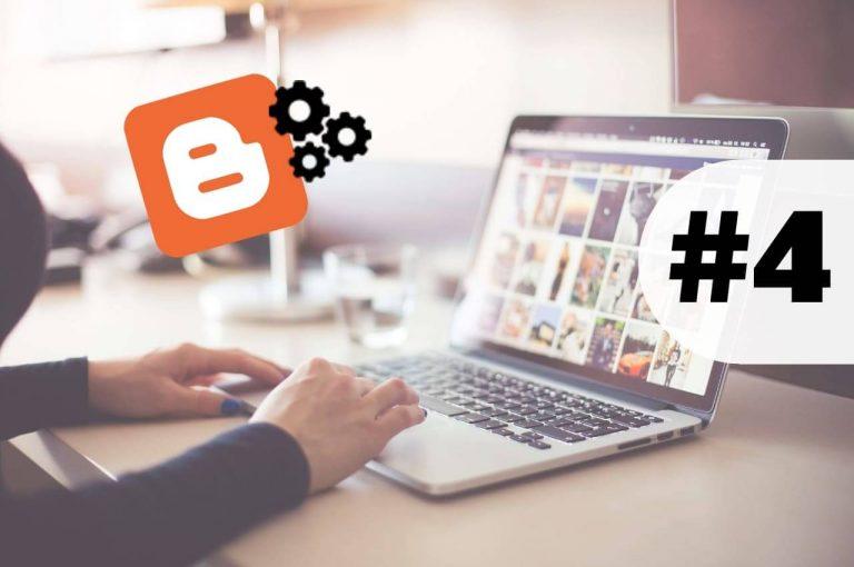 configuraciones básicas de blog blogger