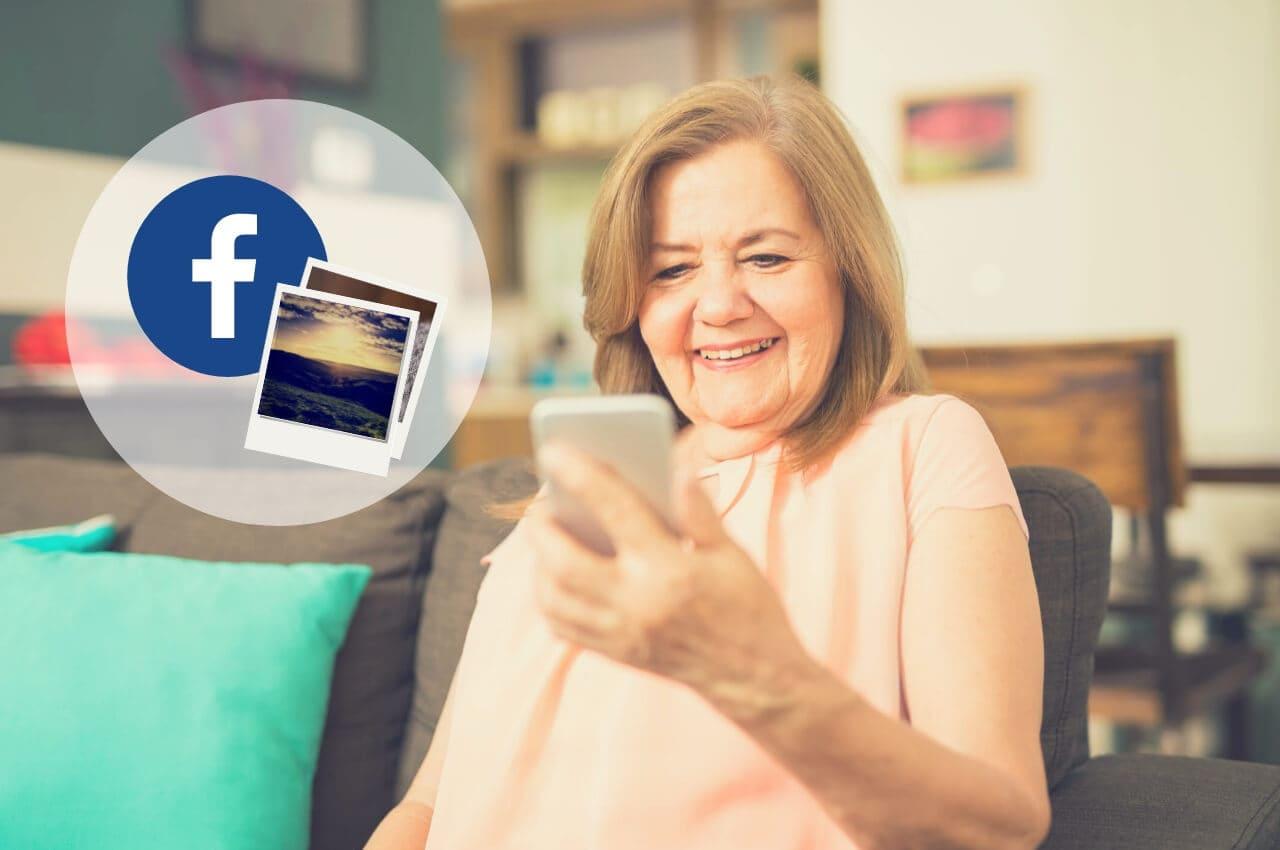 crear historia de facebook
