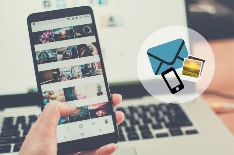 enviar fotos del celular a la pc por mail
