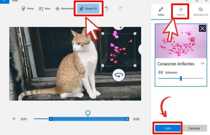 como crear un video con fotos