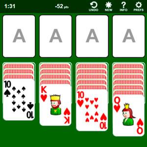 Juego de cartas Zolitario