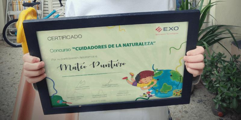Concurso de dibujo infantil Cuidadores de la Naturaleza