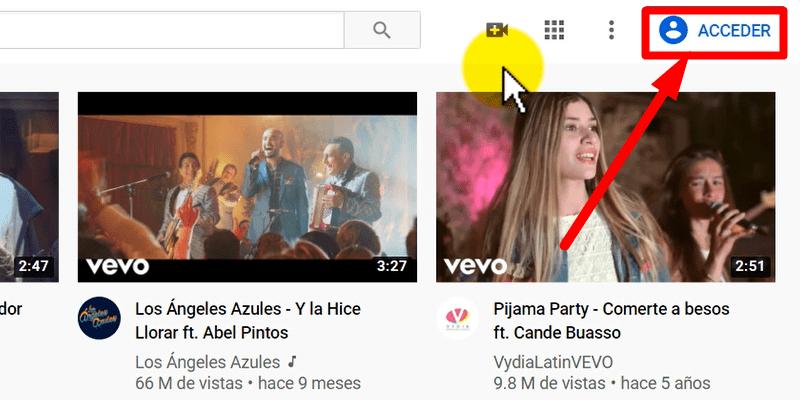 guardar tus videos favoritos